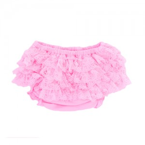 Pink Lace Bloomer