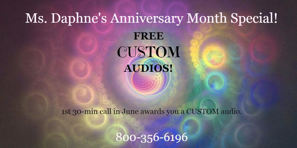 June free audio special