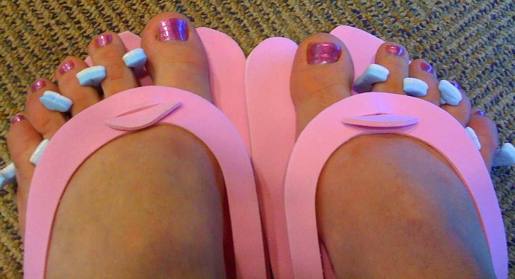 A Sissy's First Pedicure Experience