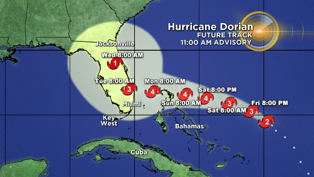 Hurricane Dorian Cumming Soon!
