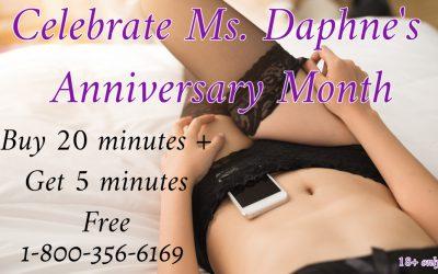 Cum Celebrate My Anniversary Month – Special 4 U!