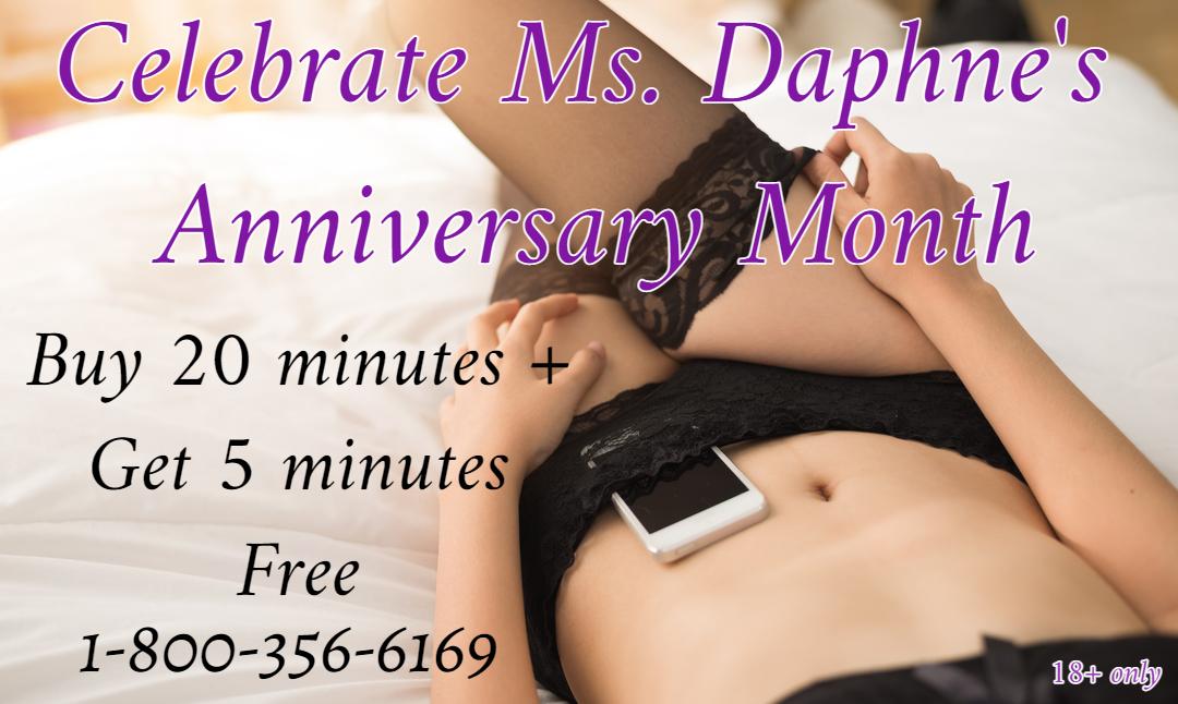Mistress Daphne 1-800-601-6975